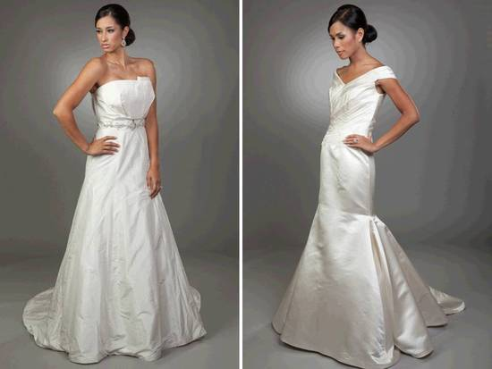 Classic 2011 wedding dresses by Songi