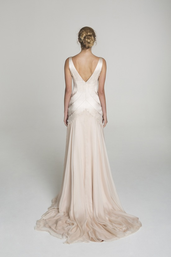 photo of Blush wedding dress from Alana Aoun