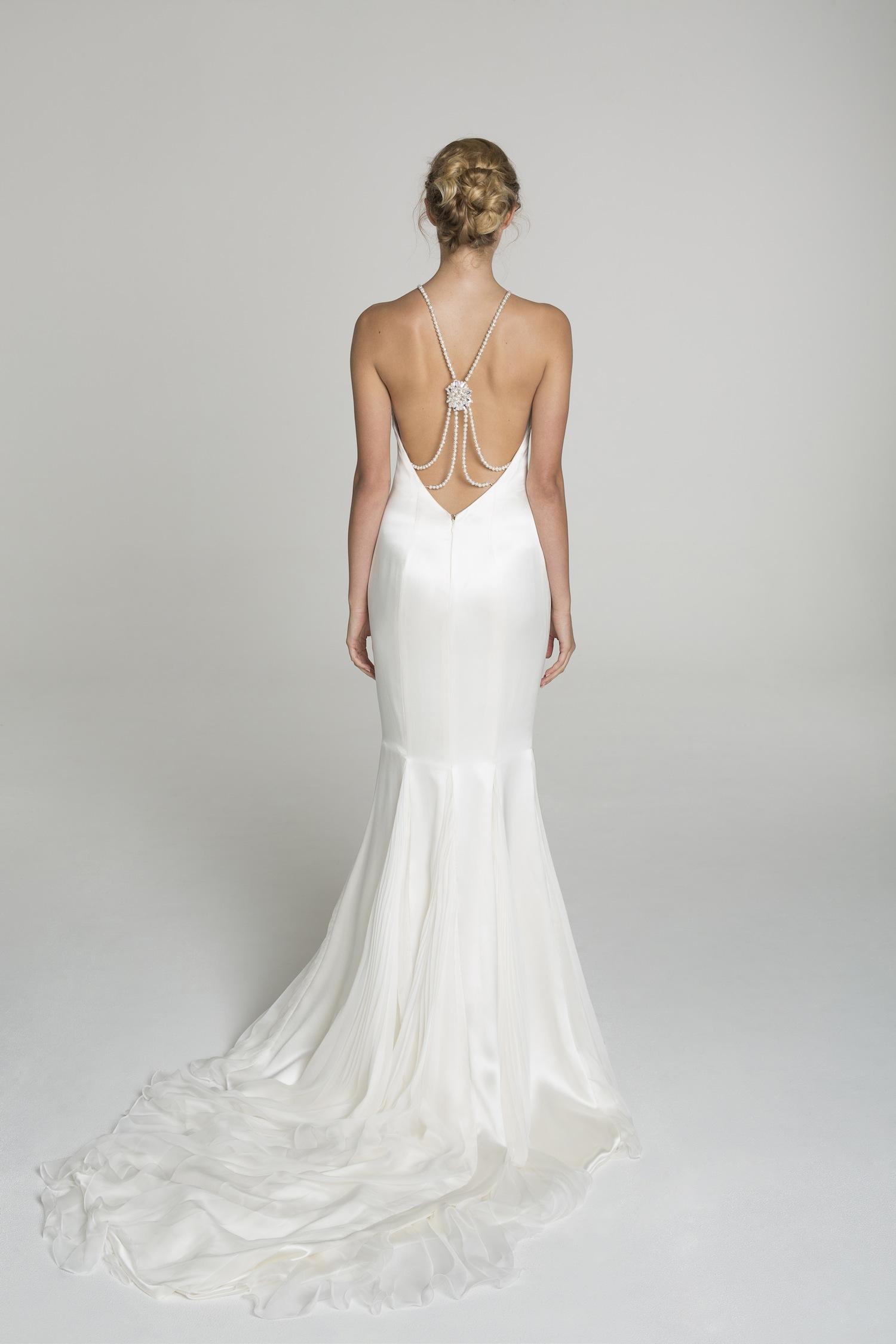 High neck wedding dress from alana aoun for Wedding dress high neck