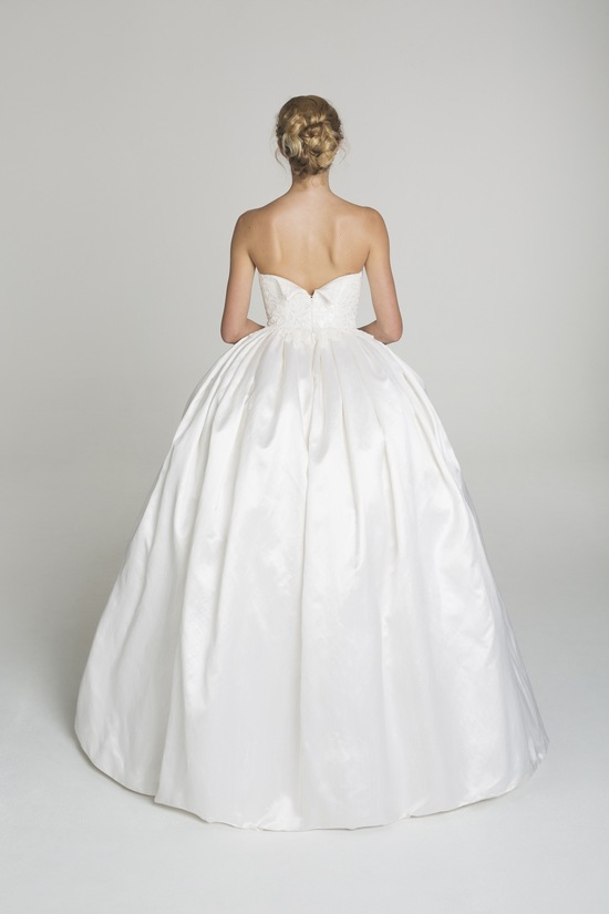 photo of Simple ball gown wedding dress from Alana Aoun