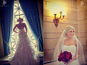 photo of Winter Wedding in Ohio: Elegant Decor, Ornate Venue