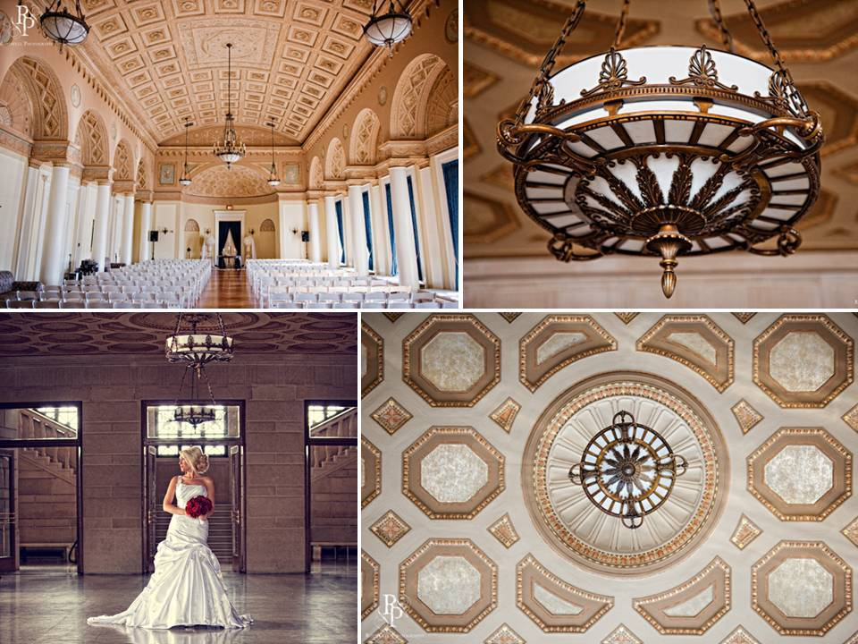Wedding ceremony venue with ornate gold ceilings elegant wedding ceremony venue with ornate gold ceilings junglespirit Images
