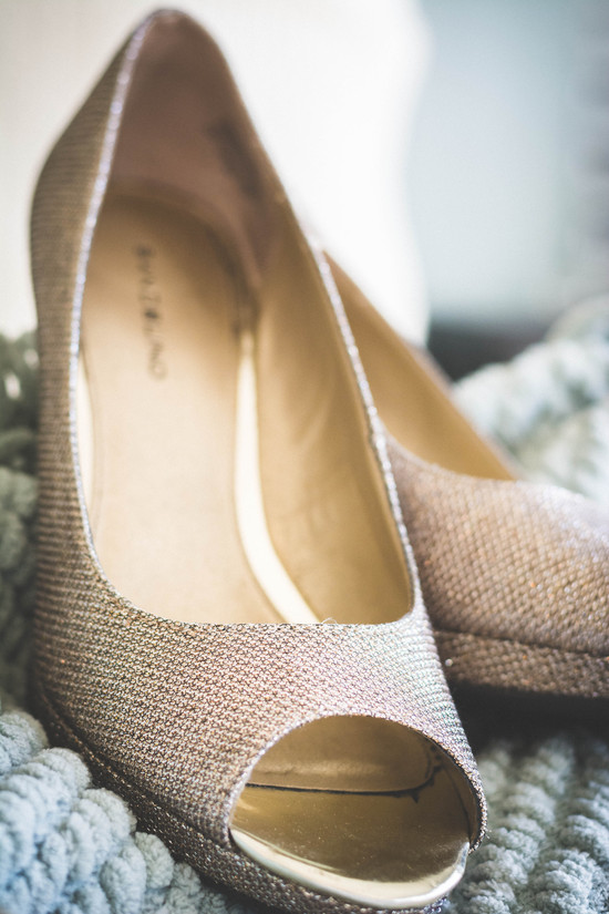Gold Shoes Bridal