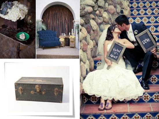 photo of Vintage Wedding Rentals for Anthropologie-Inspired Weddings and Beyond