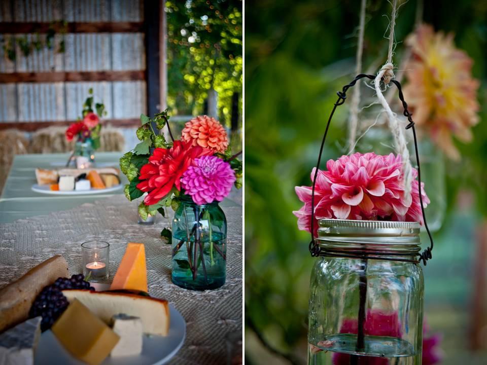 Diy-wedding-flower-arrangements-outdoor-wedding-wedding-reception-dinner.full