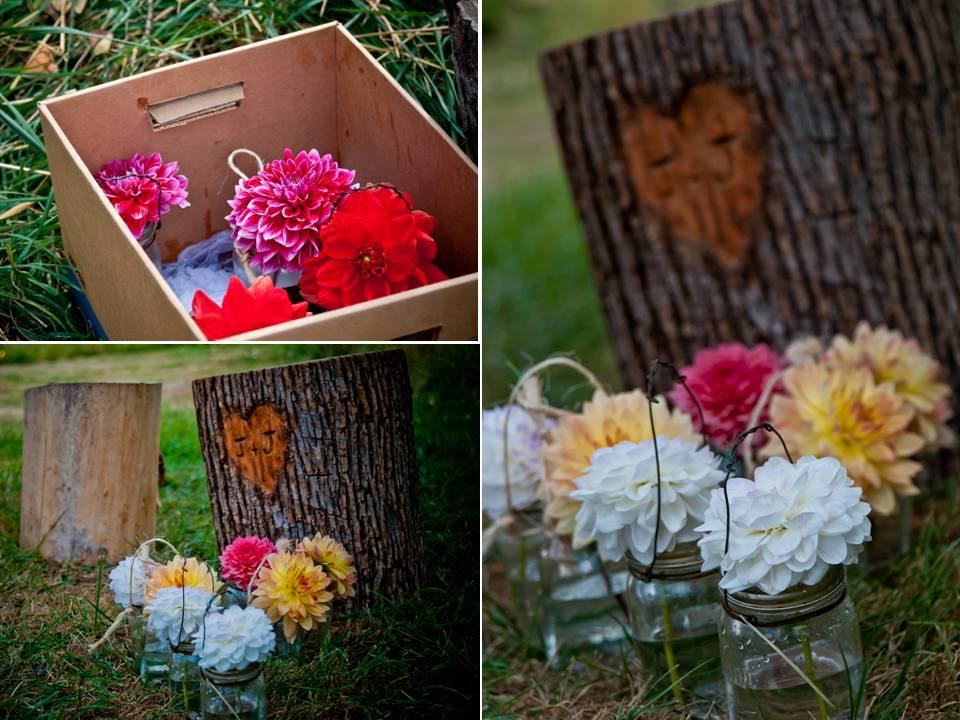 Diy-anthro-wedding-colorful-wedding-flowers-centerpieces-outdoor-venue.full