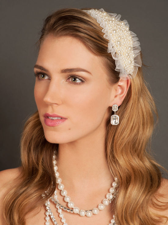 Sea of Pearls Classic Headband