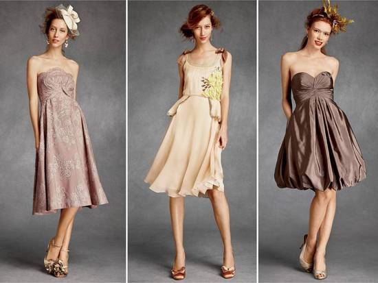 ROmantic bridesmaids dresses for Spring or Summer wedding by BHLDN