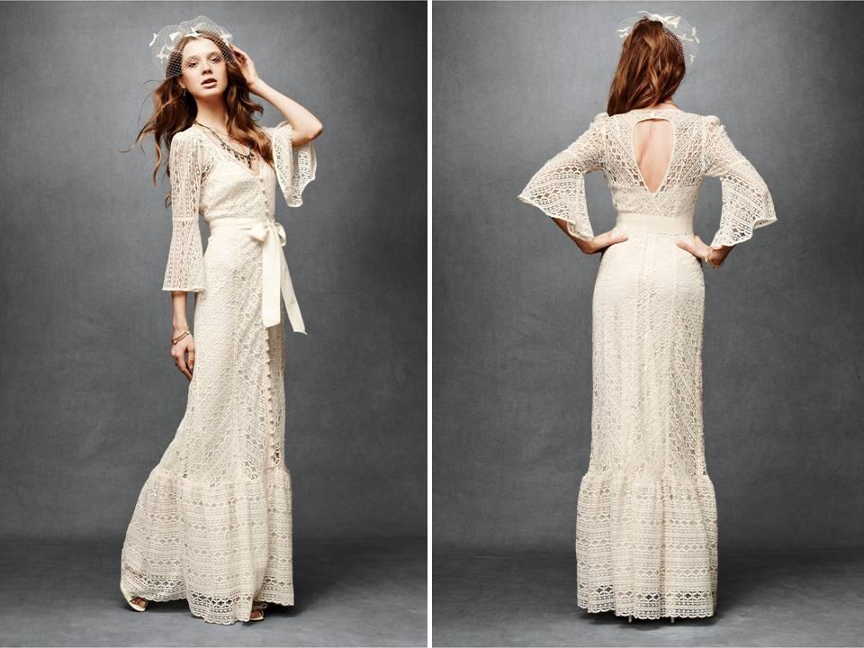 Lace vintage wedding dresses cheap wedding dresses for 3 quarter sleeve wedding dress
