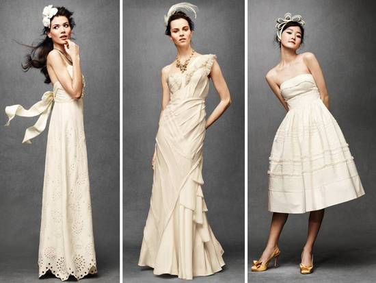 Anthropologie wedding dresses and frocks for your bridesmaids vintage inspired romantic wedding dresses from anthros new bridal line junglespirit Images