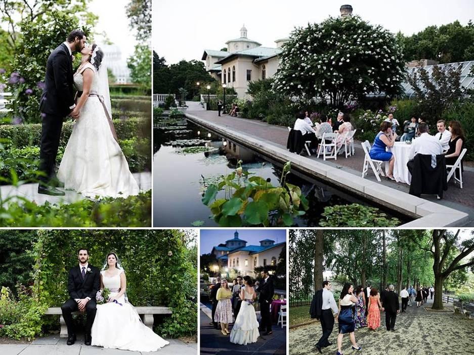 outdoor garden wedding venue for new york brides brooklyn botanic gardens