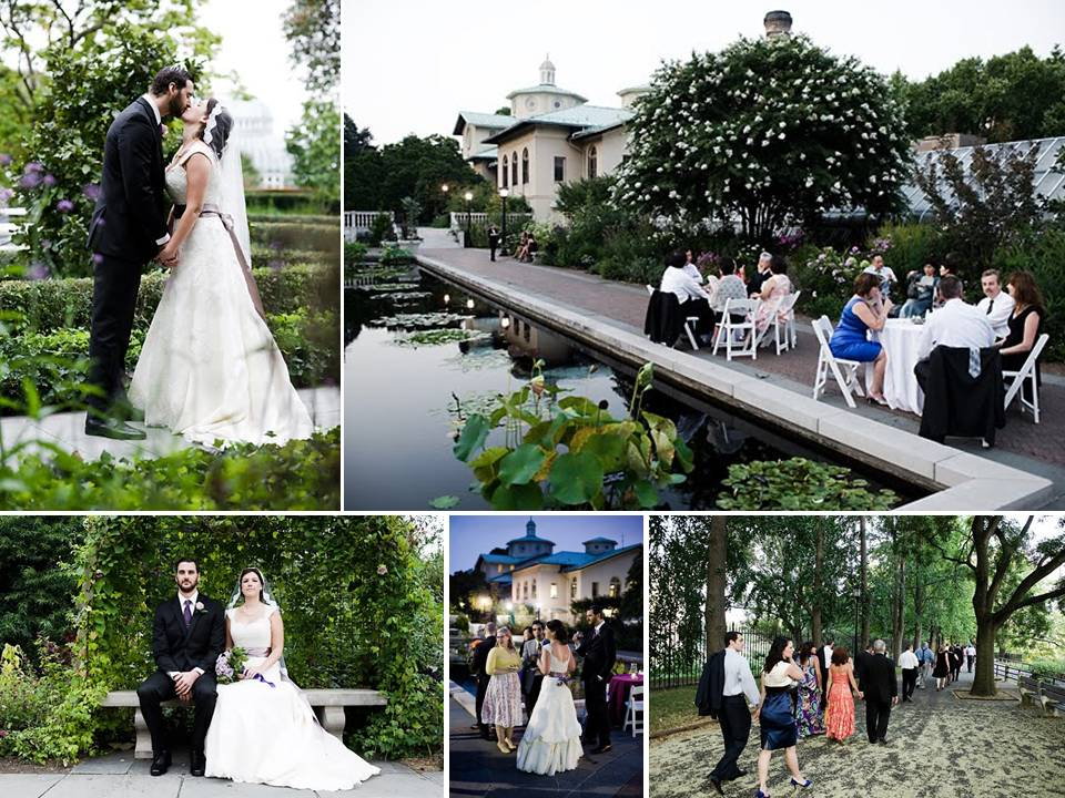 Outdoor garden wedding venue for new york brides brooklyn for Places for outdoor weddings