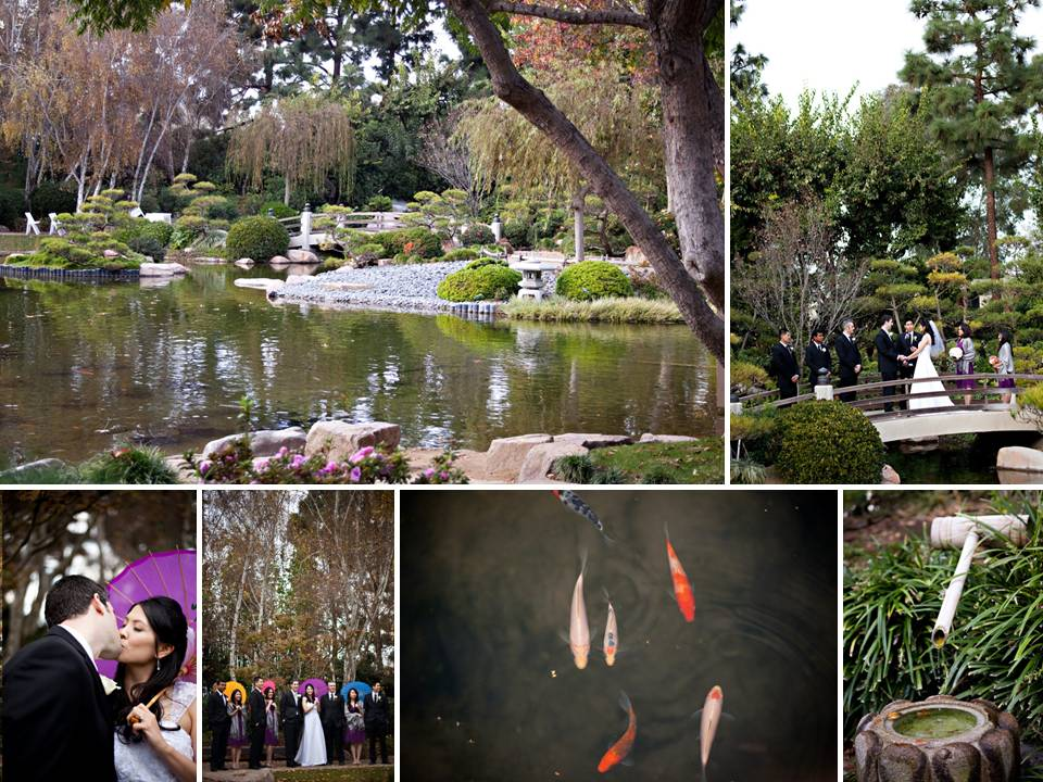 Outdoor Long Beach, CA garden wedding | OneWed.com