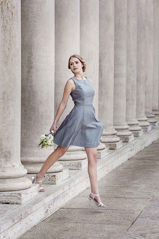 Audrey bridesmaids dress by Weddington Way