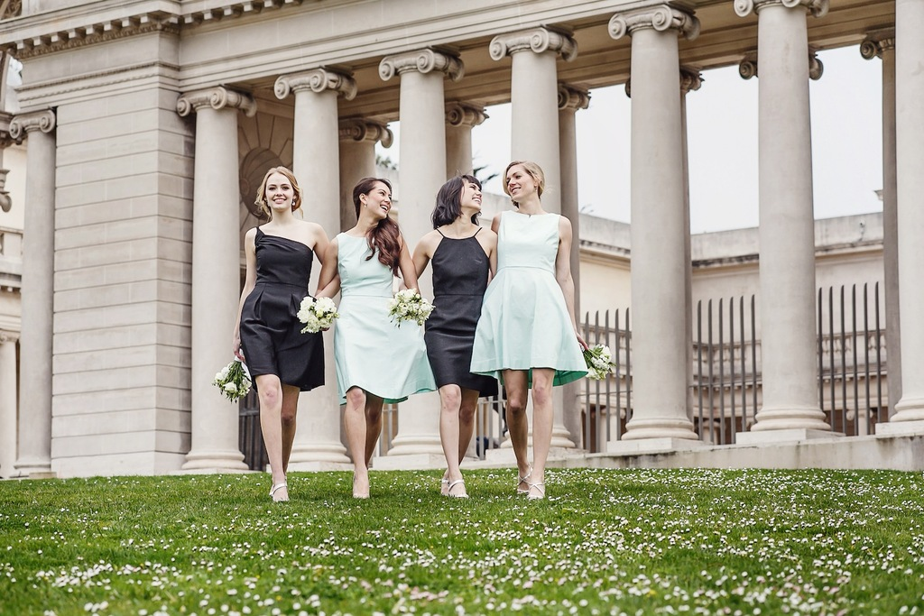 Charcoal_and_mint_bridesmaids_dresses_by_weddington_way.full