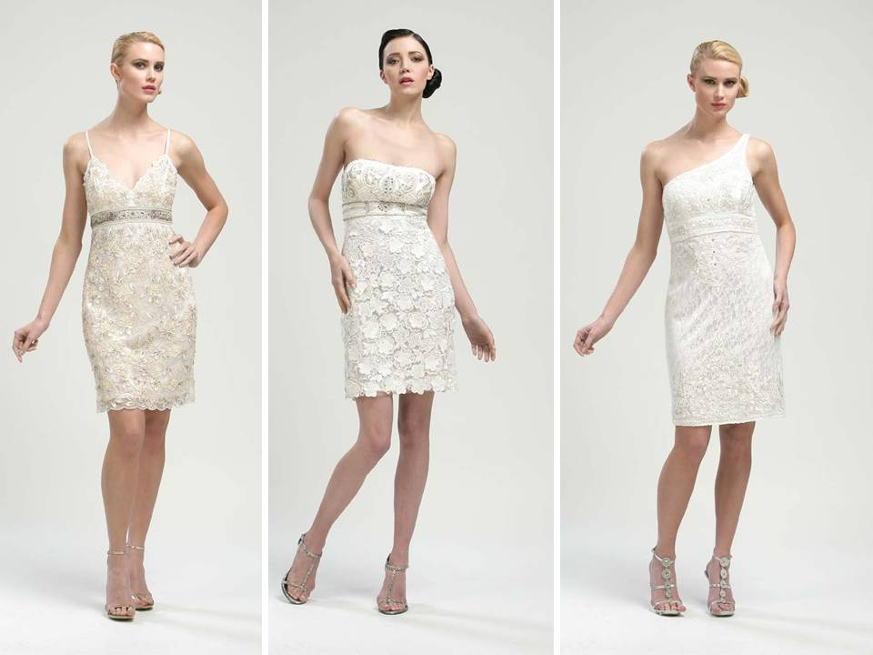Short white wedding reception dresses by sue wong Dresses for wedding reception