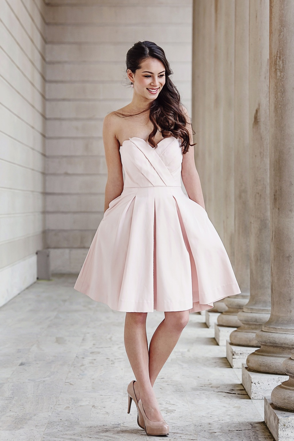 Grace bridesmaids dress by Weddington Way