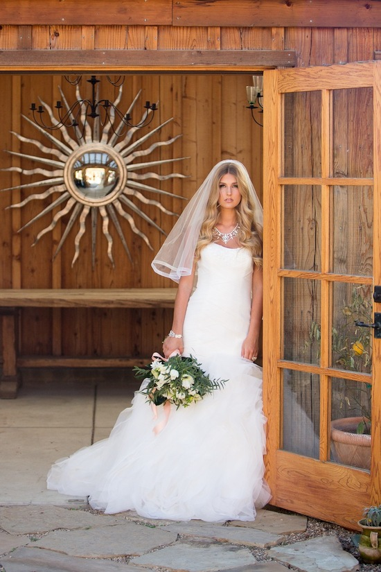 photo of A Vineyard Wedding for the Vintage Bride