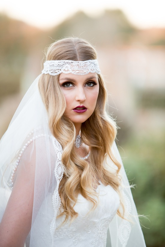 Vintage bride makeup inspiration