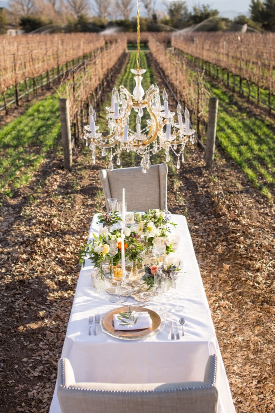 Vinyard table setting