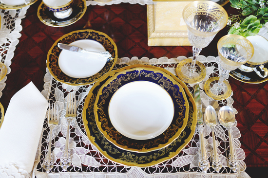 Simply Opulent Place Setting
