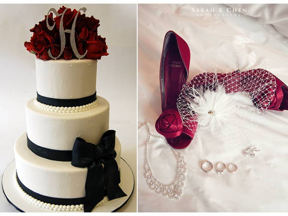 Dark-romance-wedding-vibe-valentines-day-weddings-white-wedding-cake-pearls-veil-bridal-heels.full
