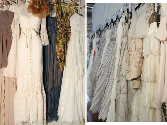 Gorgeous vintage-inspired wedding dresses with bespoke details