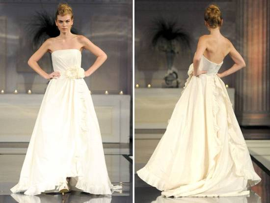 photo of 2011 Designer Bride Wedding Dresses: Angel Sanchez, David Meister
