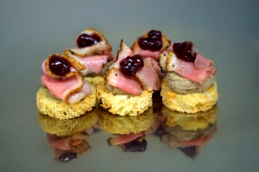 Catering Duck Breast Lingonberry