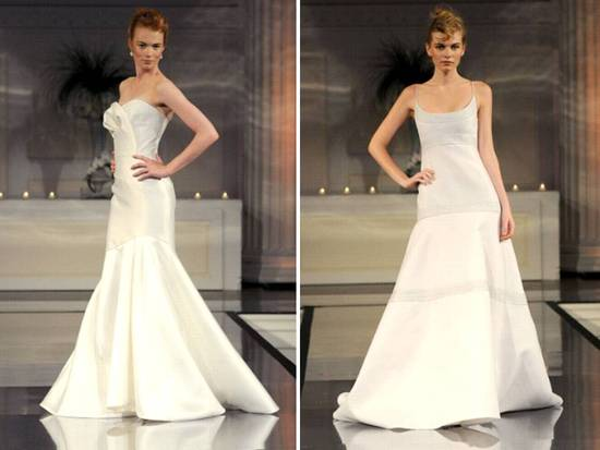 Chic sophisticated 2011 wedding dresses by Angel Sanchez