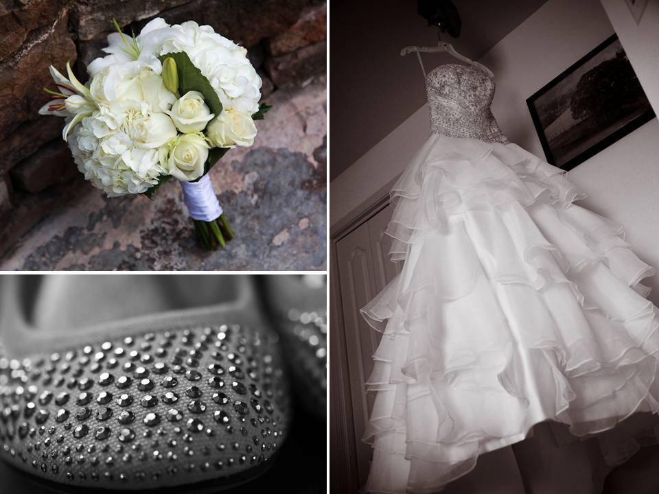Arkansas-wedding-white-bridal-bouquet-jeweled-bridal-ballet-flats-white-a-line-wedding-dress.full