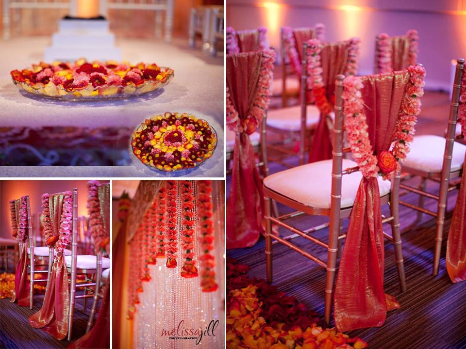 Chic-wedding-reception-decor-red-orange-color-palette-crystals-chuppah-wedding-flowers-ceremony-aisle-details.full