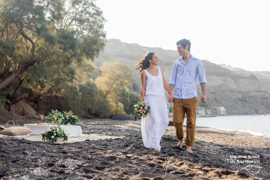 photo of Tie the Knot in Santorini-Weddings & Events