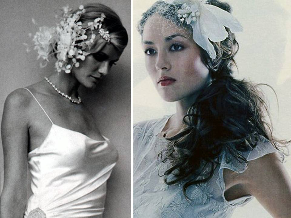 Stunning couture bridal veils and hair accessories for your wedding day