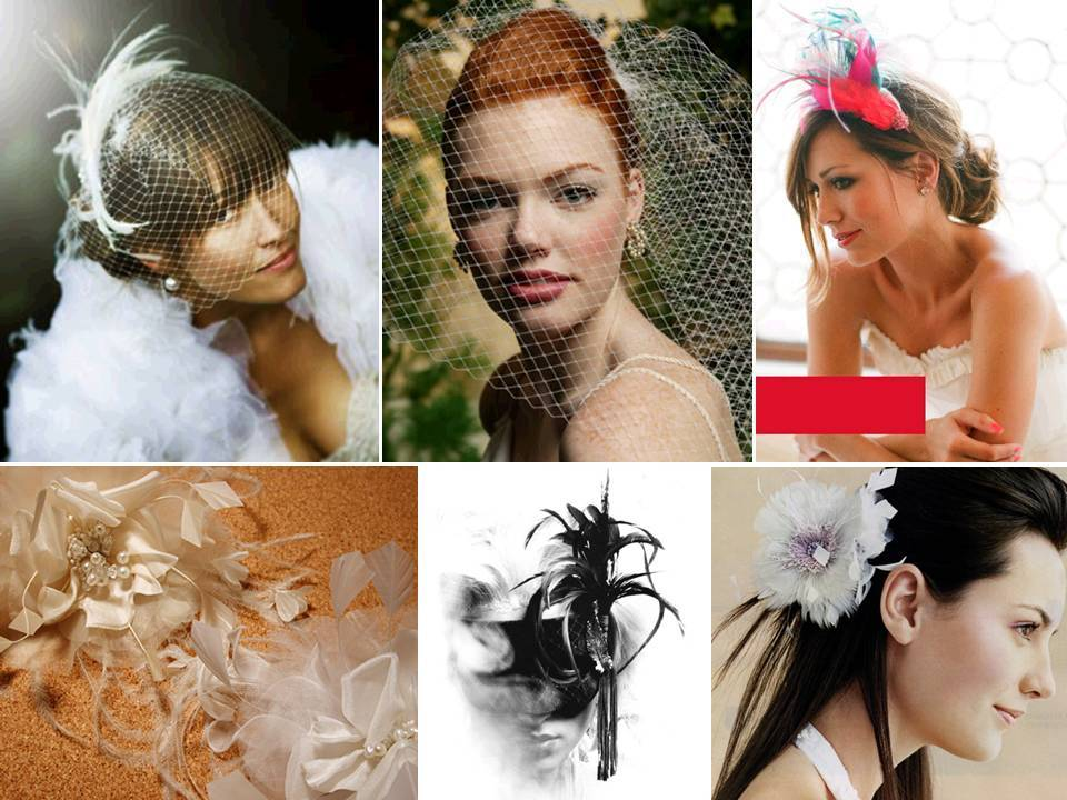 Stylish-wedding-veils-bridal-headwear-birdcage-chic-hat-feathers.full