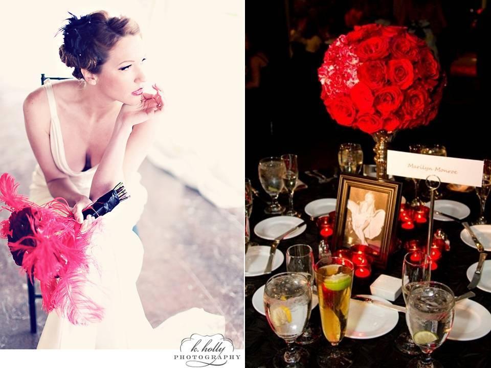 Old-hollywood-glam-vintage-wedding-theme-red-black-reception-color-palette.full