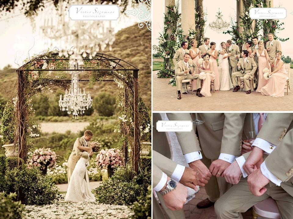 Romantic-outdoor-california-wedding-khaki-blush-ivory-wedding-color-palette.full