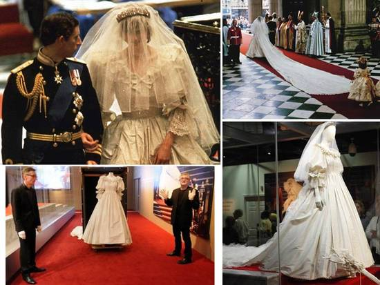 Princess Di's fairytale-inspired royal wedding gown