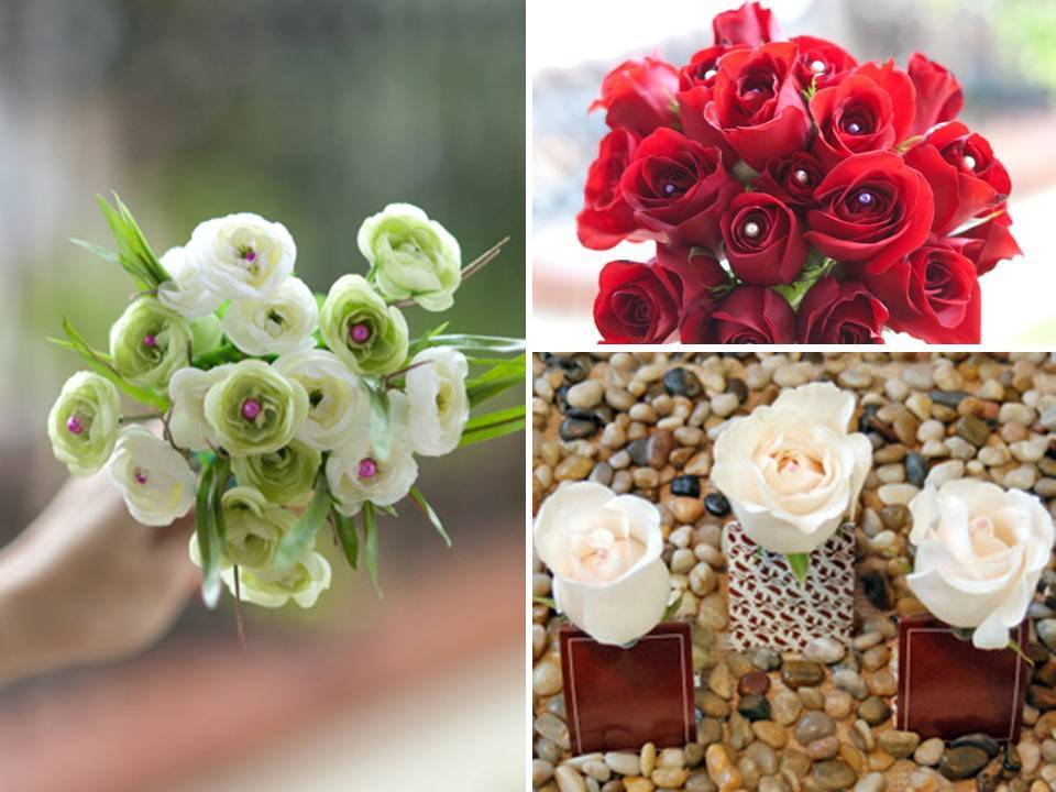 Diy bridal bouquets and wedding guest favors with colorful floral pins junglespirit Images