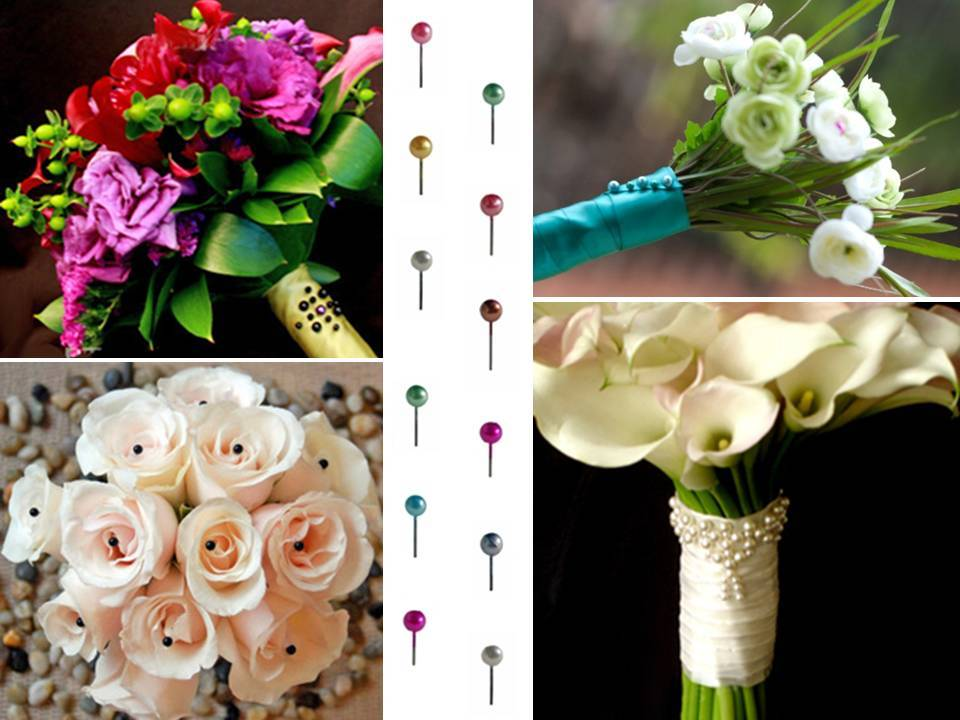 jazz up your bridal bouquet grooms bout or wedding cake with diy flower pins