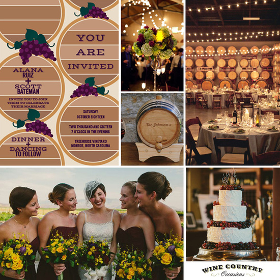 Barrel Room Inspiration Board