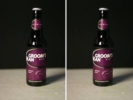 Invite your best man and groomsmen in a creative way!