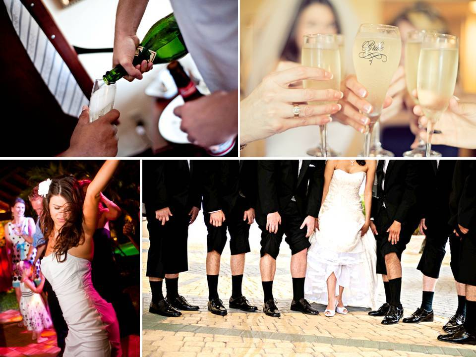Bride-groom-and-bridal-party-toast-on-wedding-day-with-champagne.full