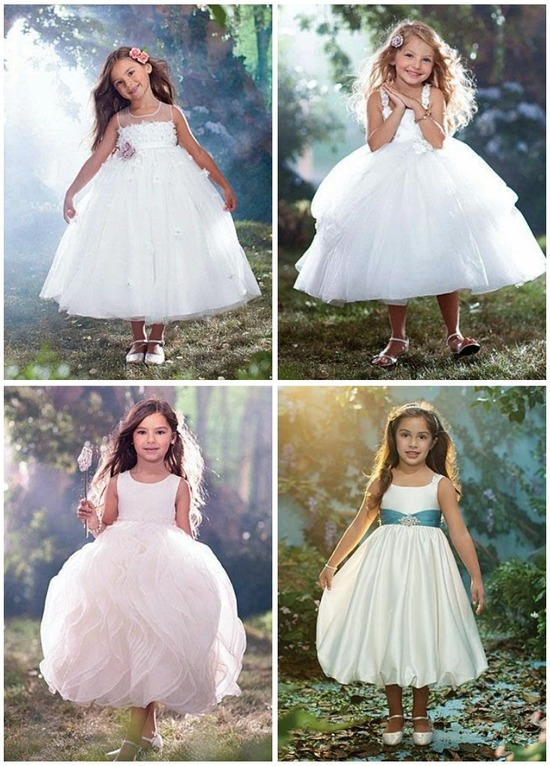 Alfred Angelo Flower Girls Dresses