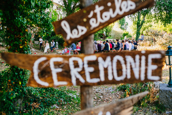 French countryside ceremony