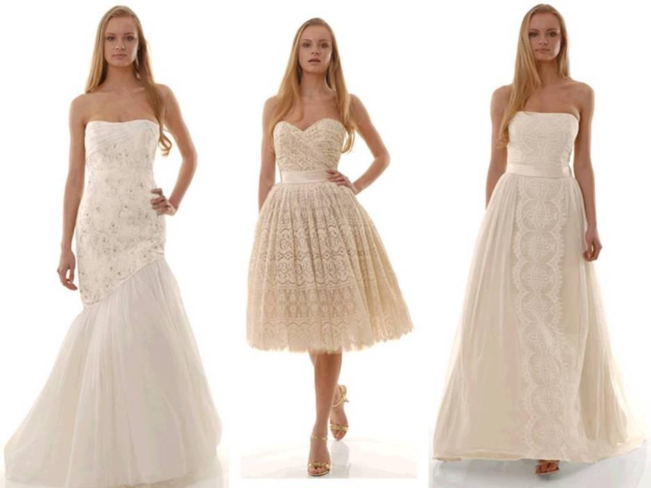 Eco friendly wedding dress The Cotton Bride strapless princess ...