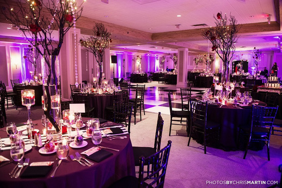 Unique Black and Red Reception