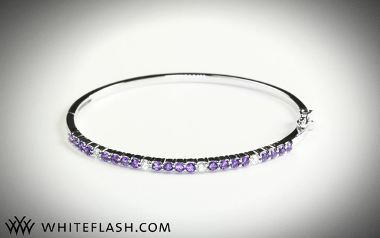 photo of Wedding Giveaway! Win a Dazzling Diamond Bangle Bracelet!