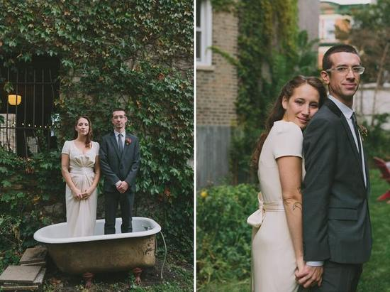 Brit and Pete Garden Wedding
