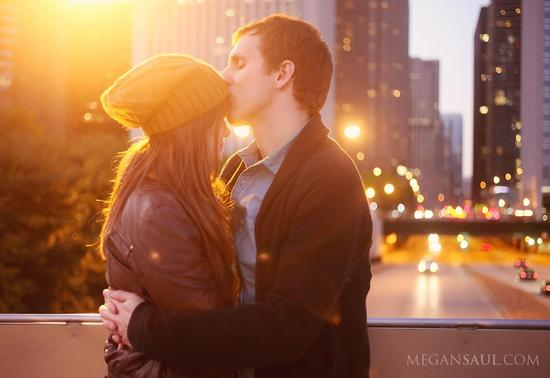 Chicago Engagement Photography by megansaul.com
